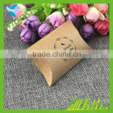 Unique Design Custom Pillow Box Packaging With Logo Printed                                                                         Quality Choice