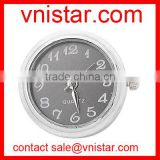 vnistar black watch quartz snap charm button NC001-2, fit button ring and button bracelet