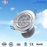 3w LED ceiling light accessories aluminum alloy round IP65&CE,used for shopping mall,supermarket,hotel,high-grade household