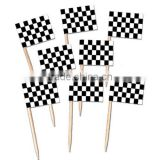Cupcake Party Decoration Flag Picks Toothpick with Flags                                                                         Quality Choice