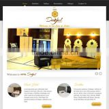 Attractive/ High Quality Wordpress Website Design for Hotel Industry