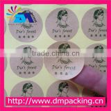 self adhesive craft paper sticker coloured pvc label