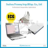 Top Quality PCECG-C500 CE&FDA Approved Portable Laptop ECG/EKG Machine with Cheap Price