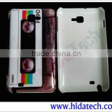 Cassette Tape Case For Samsung Galaxy Note 2, N7100 Phone Case,IMD Phone Case for Note 2 N7100