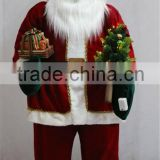 XM-A6072 60 inch lighted inflatable homer santa standing santa for outdoor christmas decorations