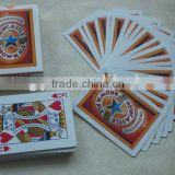 Paper playing card, casino house quality paper playing card with custom design for promotion