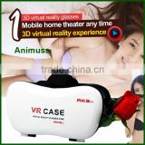 VR Case 5th headmount 3D Glasses Virtual Reality 3d glasse Headset for Mobile Phone with bluetooth remote controller II