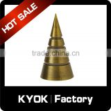 KYOK diamante sphere metal curtain accessory,fancy plastic curtain pole finials,aluminium metal curtain rod finial                                                                                                         Supplier's Choice