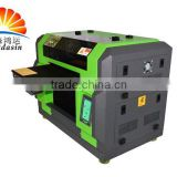 A3 Size 8 Colors ECO-Solvent Flatbed Small phone cover printing machine/mini mobile printer