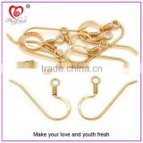 Wholesale brass earring hook high quality jewelry finddings jewelry accessories jewelry hook