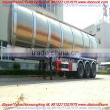 Aluminium Fuel tanker 40cbm Alloy fuel tanker, Aluminum Oil truck, steel fuel tanker, stainless steel fuel tanker for sale