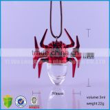 3ml spider car hanging perfume bottles, empty refillable car hanging bottle wholesale