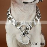 Wholesale pet product big 20mm welded curb metal chain strong stainless steel dog Collar                                                                         Quality Choice                                                     Most Popular