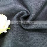 55% rayon 45% linen viscose blended linen viscose woven solid fabric mill for dress linen viscose fabric