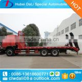 construction engineering machine transport truck,flat bed tow trucks,flat trucking