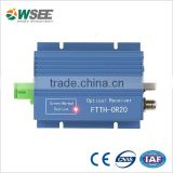 CATV 2 outputs AGC FTTH mini optical receiver/optical node                                                                         Quality Choice