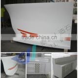 Top quality Artificial marble stone modern design ready made bars counters