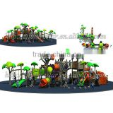 Coming soon! Ancient-tree style outdoor playground giant slide for sale with 32 optional site sizes