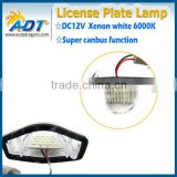 China supplier!!!CANBUS Led license plate light auto part and car accessories for Stream(01-05)