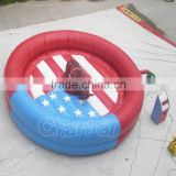 2016 Hot Sale Inflatable Mechanical Rodeo Bull Game with Inflatable Mattress China Supplier