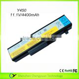 Brand new Laptop battery for Lenovo Y450 Laptop Battery 6 CELL