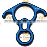Rescue Figure 8 rock climbing descender