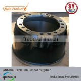 brake drum 3464230501 for benz truck