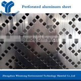 Hot sale high quality aluminium perforated sheet,aluminium perforated square hole panels