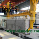 Provide complete sand Fly ash Light Weight AAC block plant Machine with capacity 30000-350000m3/year -- Sinoder Brand