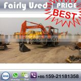 Used Hitachi Wheel Excavator WH03, EX100WD-1