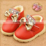 N1533 HOT Baby Girl Boy Shoes Anti-Slip Toddler Soft Sole Winter shoes