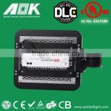 120W UL DLC TUV high lumen dimmable cheap atex gas station led canopy lights