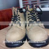 low price industrial workman's steel toe brand leather safety shoes for hiking and outdoors CE EN20345