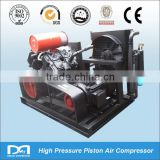 High reliable 415bar High Pressure Air Compressor for wind tunnel