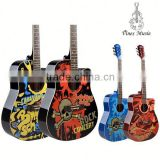 Colored Design Guitar for Students