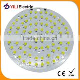 2015 hot High power 120W round aluminium smd pcb board for high bay light Led