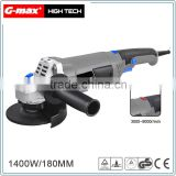 G-max 1400W Variable Speed 150mm/180mm Angle Grinder With Soft Grip GT11163V