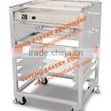 Chocolate Coating Machine/ Stainless steel Chocolate Decoration for Donuts,Cakes and Breads/Chocolate Enrobing Machine