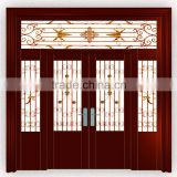 professional manufacture high quality used wrought iron door gates design for Spring has