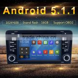 Android 5.1.1 Car PC GPS for Audi A3 S3 2003-2011 3G Wifi BT SD Navigation Radio RDS Stereo System