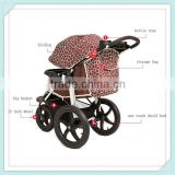 EN1888 classicjianer baby brand baby buggy strollers baby stroller with big wheels