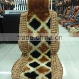 Factory direct merino wool car seat cover,merino rug,seat cushion and auto parts in turkey