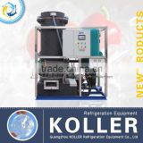 Koller Industrial 10TPD tube ice maker machine with semi-automatic packing for restaurant TV100