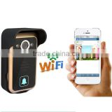 WiFi Wireless Video Door Phone smart home wifi peephole Camera PIR IR Night Vision Alarm Android IOS Smart Home