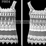 new fashion crochet lace transparent style sleeveless women vest wholesaler in stock