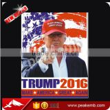 t-shirt vinyl flim Trump 2016 design , eco solvent printable Pu transfer vinyl for t-shirts transfer film for 2016 US Election