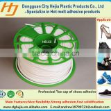 Environmental PES(Polyester) toe lasting hot melt adhesive glue for women shoes/sport shoes/fashion shoes