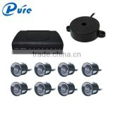 3-step buzzer alarm sound beeper parking sensor with 4/6/8 sensores parking sensor system