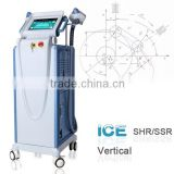 2000W SHR+SSR Ipl Hair Removal / Improve Rough Elos Hair Removal Ipl Machine Pigment Treatment