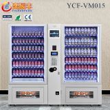 YCF-VM015 Vending machine snacks and drinks/automatic food vending machines price/vending machines snack beverages combo